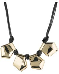 Alexis Bittar - Folded Knot Reversible Necklace - Lyst