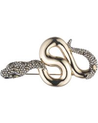 Alexis Bittar - Snake Pin With Crystal Accent - Lyst