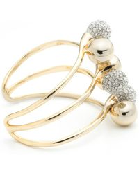 Alexis Bittar | Crystal Encrusted Interlocking Sphere Cuff Bracelet You Might Also Like | Lyst