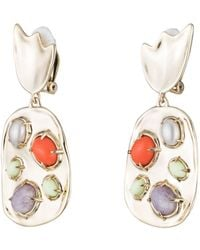 Alexis Bittar - Sculptural Stone Cluster Clip Earring - Lyst