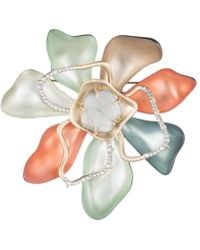 Alexis Bittar - Abstract Colour Block Flower Pin - Lyst