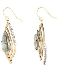 Alexis Bittar - Crystal Encrusted Spiral Earring - Lyst