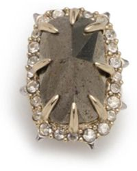 Alexis Bittar - Two Tone Pyrite Stone Slide You Might Also Like - Lyst