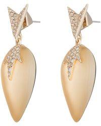 Alexis Bittar - Crystal Encrusted Dangling Starburst Post Earring - Lyst