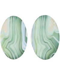 Alexis Bittar - Large Agate Lucite Ellipse Clip Earring You Might Also Like - Lyst