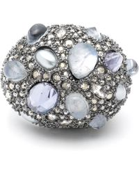 Alexis Bittar - Stone Cluster Pavé Cocktail Ring - Lyst