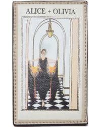 Alice + Olivia - Elle Vintage Stace Card Case - Lyst