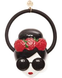 Alice + Olivia - Staceface With Flowers Hair Tie - Lyst