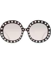 Alice + Olivia - Bel Air Sunglasses - Lyst