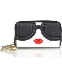Alice + Olivia - Staceface Wallet With Keychain - Lyst