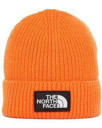 The North Face - Tnf Logo Box Cuffed Beanie - Lyst