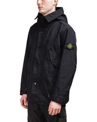 Stone Island - David TC Short Parka - Lyst