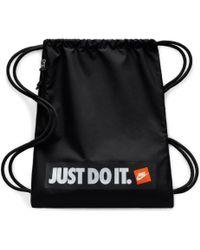 dfd621ddf20f42 Nike - Nike Heritage Gym Bag Just Do It - Lyst