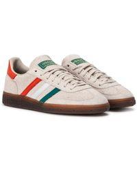 444db6700 adidas Originals Handball Spezial St Patrick's Day in Brown for Men ...