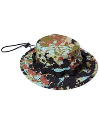 Raised By Wolves - Speckle Peace Camo Boonie Hat - Lyst