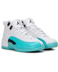 d22db0a62ff1 Nike Air Jordan 12 Retro Gs in White for Men - Lyst