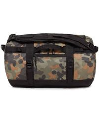 The North Face - Base Camp Large Camouflage-print Coated-canvas Duffle Bag - Lyst
