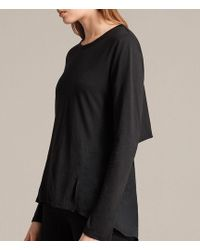 AllSaints - Nadia Long Sleeve Tee - Lyst