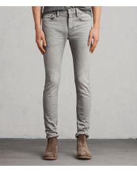AllSaints - Ghoul Cigarette Skinny Jeans - Lyst