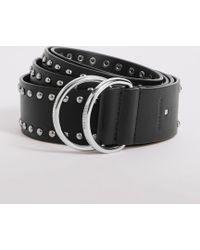 AllSaints - Kira Studded Leather Belt - Lyst