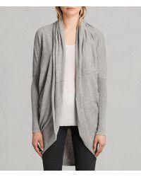 AllSaints - Itat Shrug Cardigan Usa Usa - Lyst