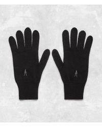 AllSaints - Fen Gloves - Lyst