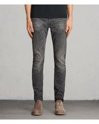 AllSaints - Galendo Rex Straight Skinny Jeans - Lyst