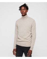 AllSaints - Travon Roll Neck Jumper - Lyst