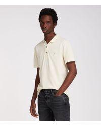 AllSaints - Reform Polo Shirt - Lyst