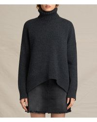 AllSaints - Veda Roll Neck Sweater - Lyst