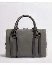 AllSaints - Voltaire Leather Bowling Bag - Lyst