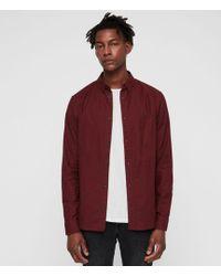 AllSaints - Hungtingdon Shirt - Lyst