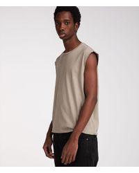 AllSaints - Heton Sleeveless Crew T-shirt - Lyst