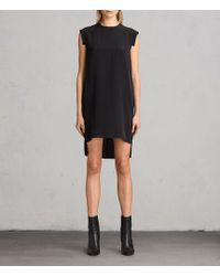 AllSaints - Tonya Lew Silk Dress - Lyst