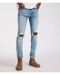 AllSaints - Ichnaw Cigarette Skinny Jeans - Lyst