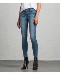 AllSaints - Grace Skinny Jeans - Lyst