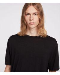 AllSaints - Satum Crew T-shirt - Lyst