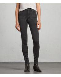 AllSaints - Stilt High Waisted Jeans - Lyst