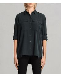 AllSaints - Millie Shirt - Lyst