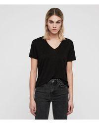 AllSaints - Emelyn Stud T-shirt - Lyst