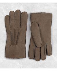 AllSaints - Bering Leather Gloves - Lyst