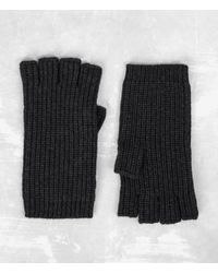 AllSaints - Tornn Knitted Gloves - Lyst