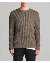 AllSaints - Kee Crew Sweater - Lyst