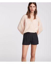 AllSaints - Obel Shorts - Lyst