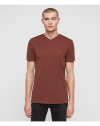 AllSaints - Tonic V-neck T-shirt - Lyst