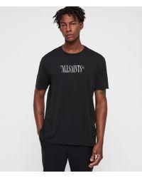 AllSaints - Brackets Crew T-shirt - Lyst
