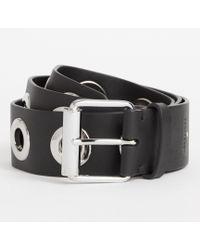 AllSaints - Dani Leather Belt - Lyst