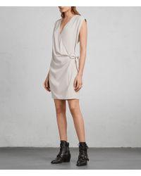 AllSaints - Callie Dress - Lyst
