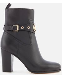MICHAEL Michael Kors - Heather Heeled Boots - Lyst