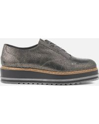 Dune - Women's Follow Leather Oxford Shoes - Lyst